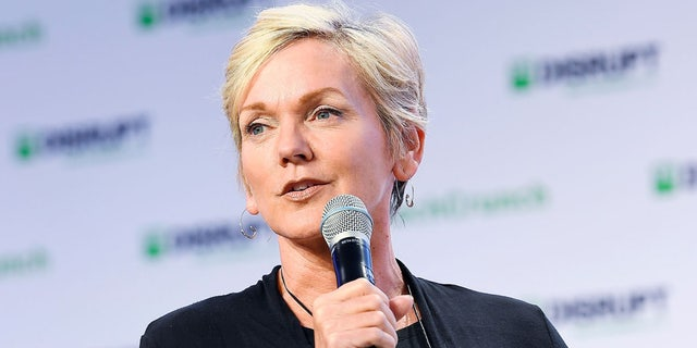 Former Governor of Michigan and CNN commentator Jennifer Granholm speaks onstage during TechCrunch Disrupt San Francisco 2019 at Moscone Convention Center on Oct. 3, 2019, in San Francisco, Calif. (Steve Jennings/Getty Images for TechCrunch)