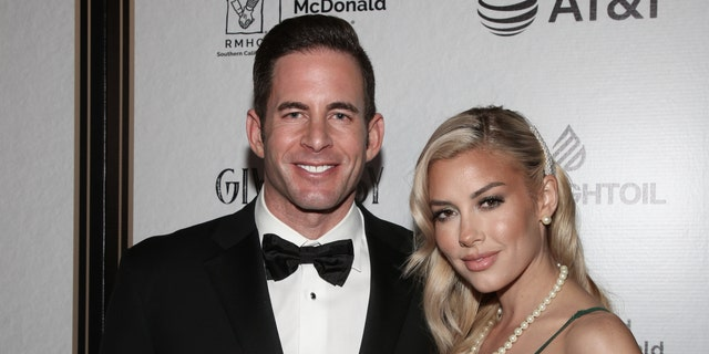 Reality TV personalities Tarek El Moussa (L) and Heather Rae Young (R) plan to marry in 2021.