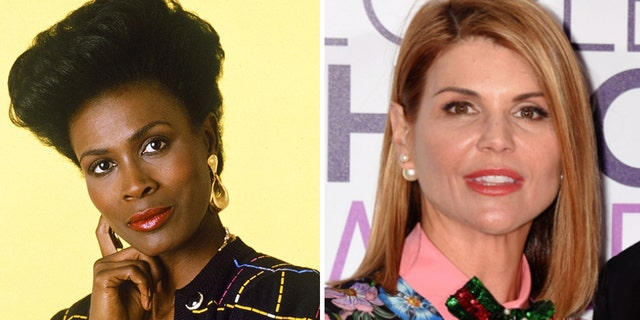 Janet Hubert (R) slammed Lori Loughlin's 'privilege' for receiving a light sentence for her involvement in the college admissions scandal. Loughlin (L) was released from prison on Monday.
