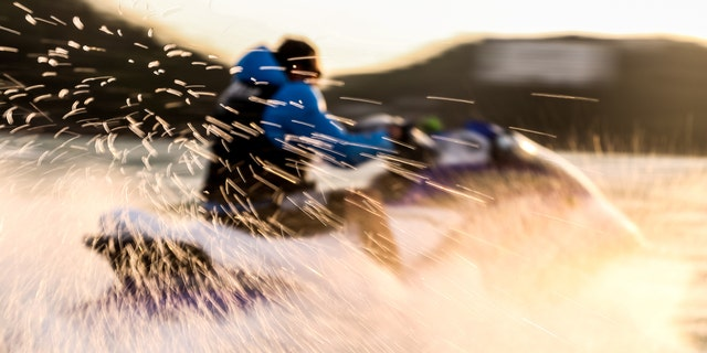 A man took a jet ski across the Irish Sea so he could visit his girlfriend on the Isle of Man last week. (iStock)