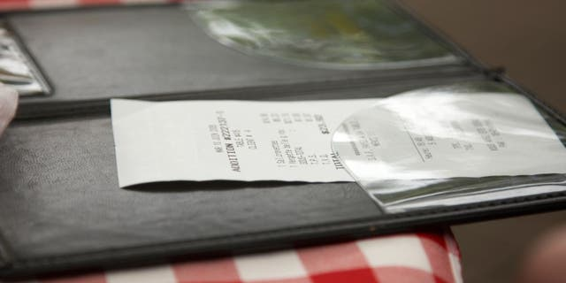 An anonymous man left a $  600 tip for a longtime server at an Idaho restaurant using his stimulus check.
