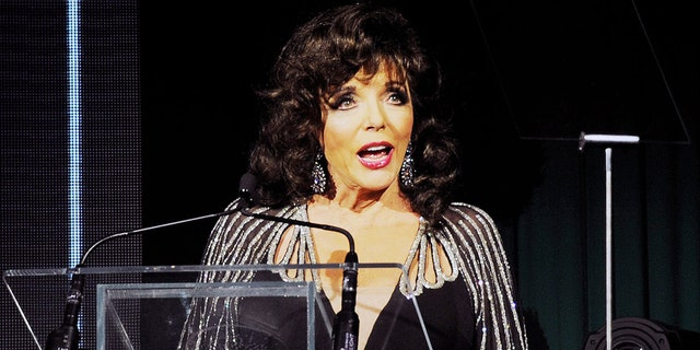 Joan Collins has been getting in the Christmas spirit by sharing some of her fashionable looks from 2020 and years prior.