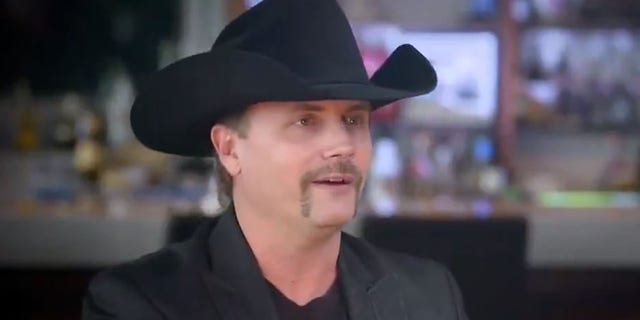 "Singer John Rich being interviewed on ""No Interruption with Tomi Lahren"" in October."