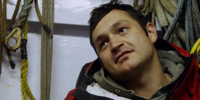 Nick McGlashan in a scene from 'Deadliest Catch.'