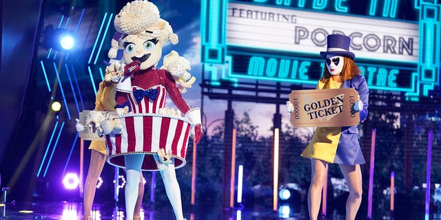 Taylor Dayne gushed over her Miss Popcorn costume.