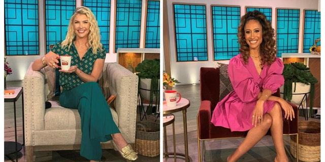 (L-R) Amanda Kloots and Elaine Welteroth will join 'The Talk.'