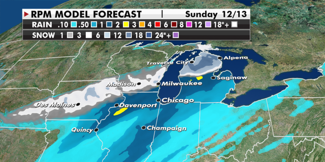 Fox News weather graphic