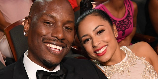 Tyrese (L) and Samantha Lee Gibson announced that they would divorce after four years of marriage.