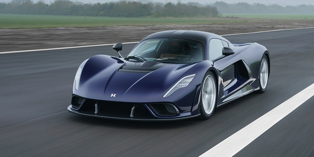 Hennessey Venom F5 Debuts With 1,817-HP V8, 311-MPH Top Speed