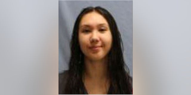Renea Baek Goddard, 22, was associated with a group that tossed Molotov cocktails toward Little Rock Police Department vehicles, authorities say. (Little Rock Police Department)