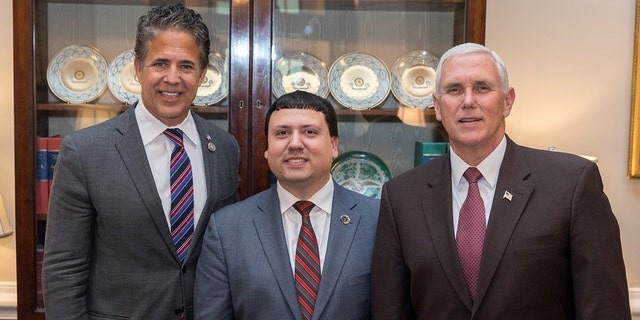 "Xavier DeGroat previously had a meeting with Vice President Mike Pence, through the help of former Rep. Mike Bishop, R-Me., to talk about autism awareness. Pence tweeted about the April 2018 meeting afterward, sê ""Xavier is a courageous advocate for autism awareness and all Americans with disabilities. Great job Xavier!"""