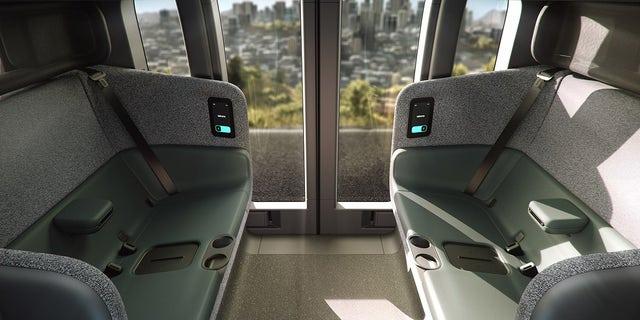Zoox L5 Fully Autonomous, All-electric Robotaxi Interior