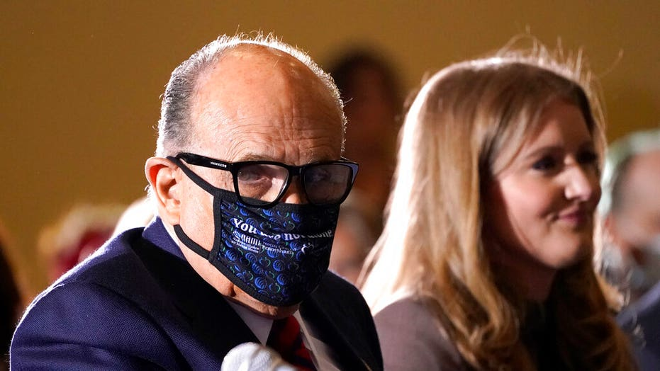 Rudy Giuliani taking remdesivir, says 'you can overdo the masks'