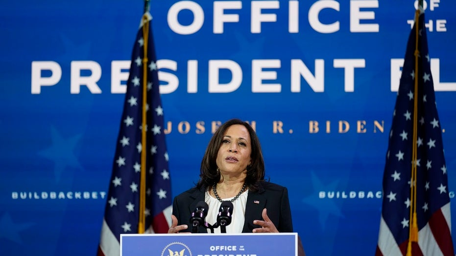 Kamala Harris calls to 'honor' Sandy Hook victims with gun reforms