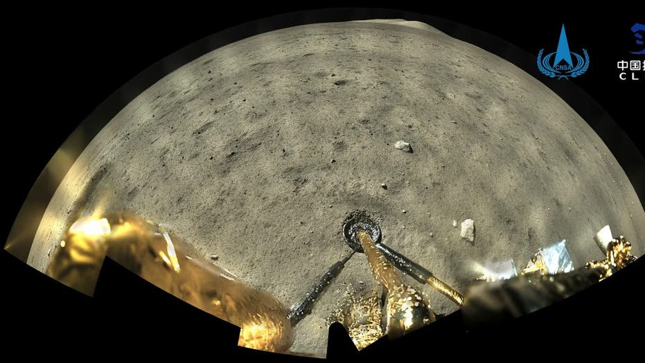 China moon probe preparing to return rock samples to Earth