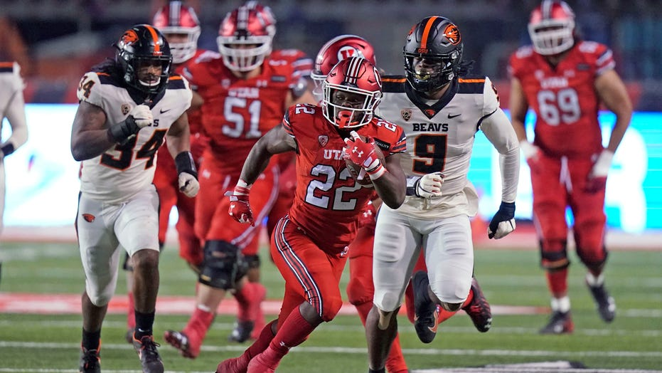 Utah survives late rally, edges Oregon State 30-24