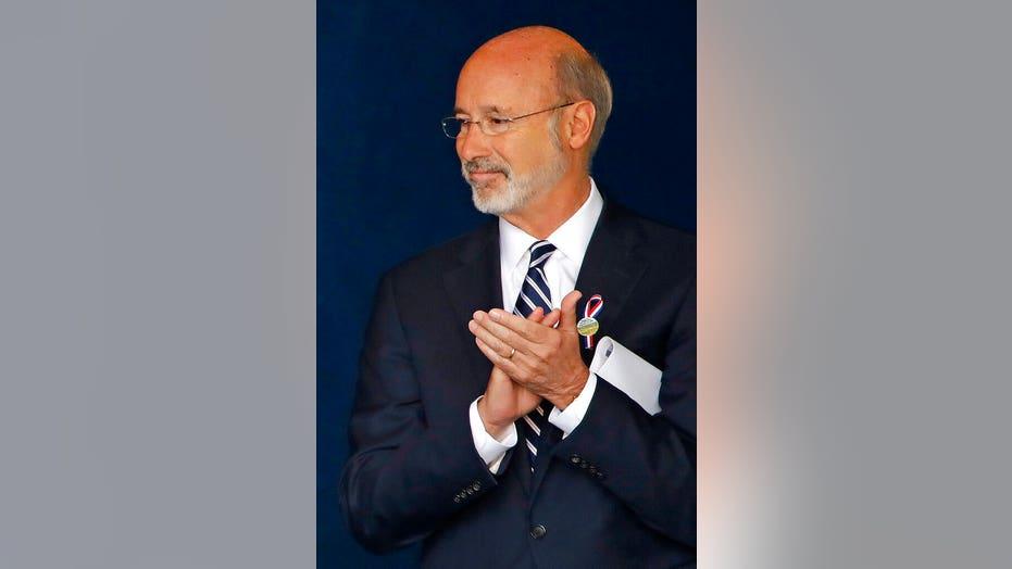 Pennsylvania Gov. Tom Wolf announces coronavirus diagnosis