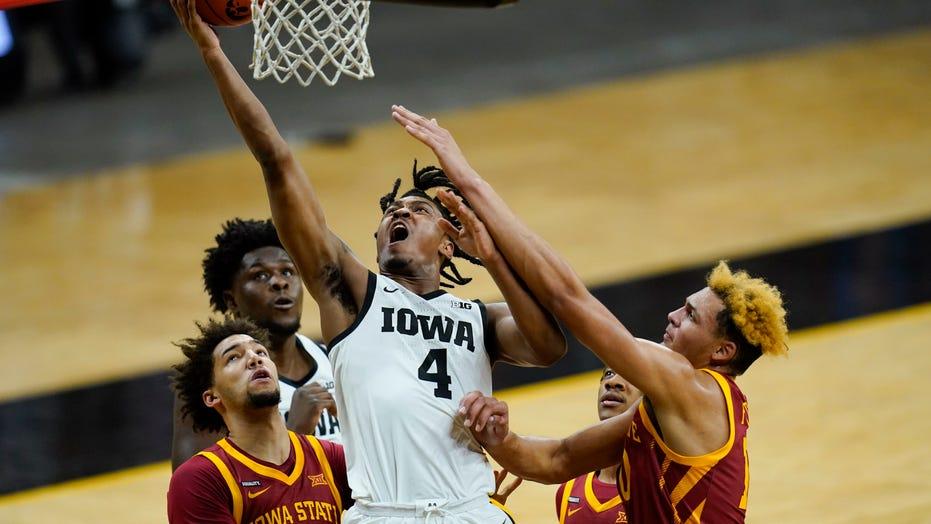 No. 3 Iowa's date with No. 1 Gonzaga headlines Top 25 slate