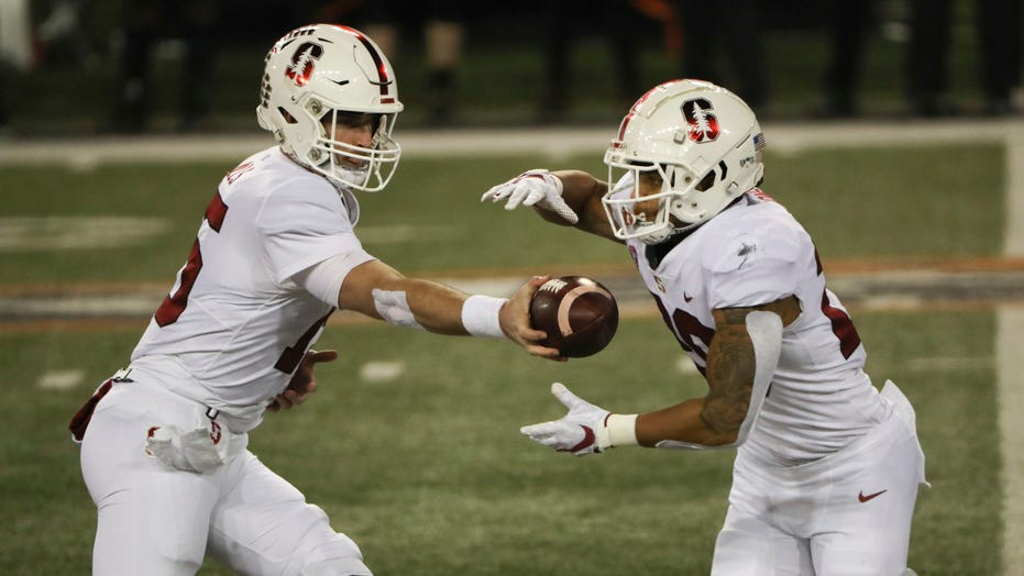Mills accounts for 3 TDs, Stanford beats Oregon St. 27-24