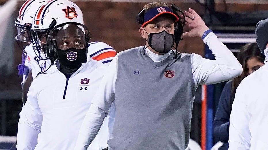 Auburn fires head football coach Gus Malzahn