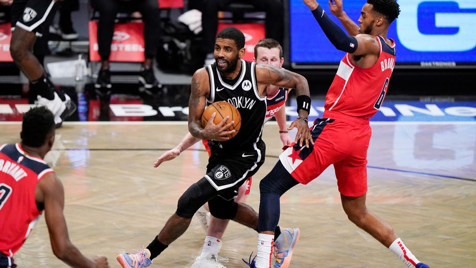 Nets' Kyrie Irving speaks to media for 1st time after getting fined by NBA