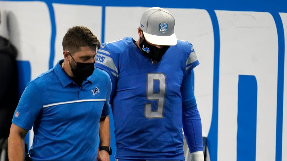 Injured Stafford isn't available for comeback as Lions lose
