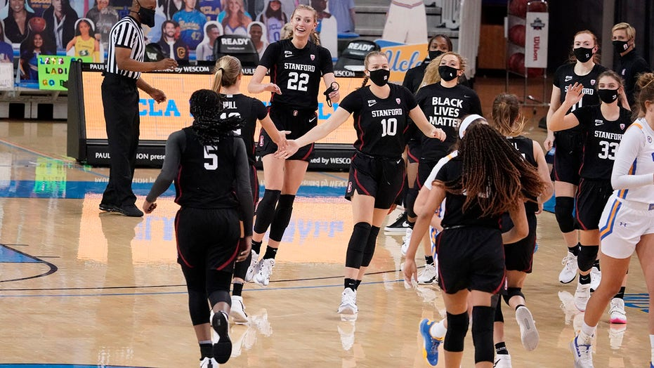 Stanford passes first real test, remains atop women's Top 25