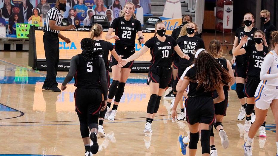 Stanford slaag eerste regte toets, remains atop women's Top 25
