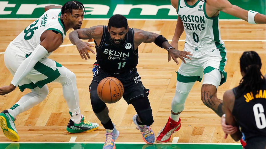 Irving scores 37, leads Nets to 123-95 win over Celtics