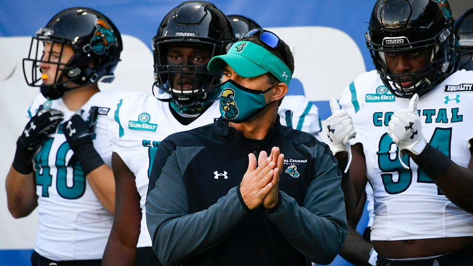Coastal Carolina's Jamey Chadwell is AP coach of the year