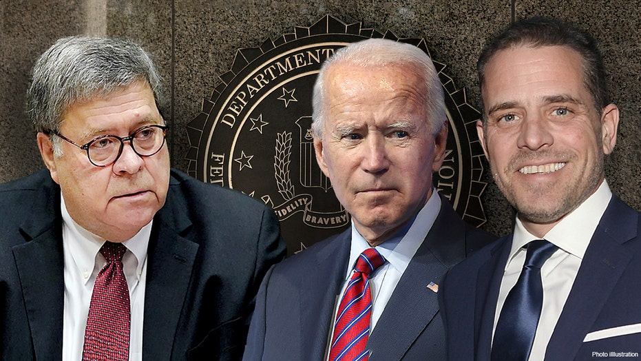 Biden hasn't discussed Hunter in his search for an AG, some stories about son were 'Russian disinformation'