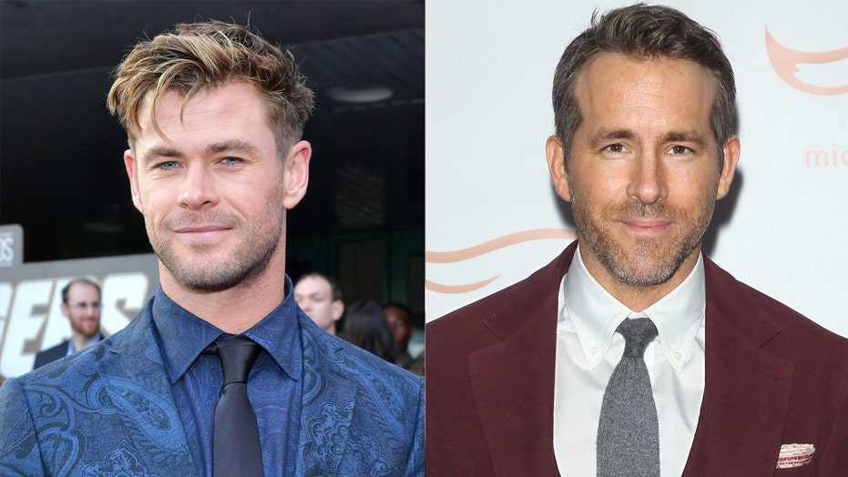Chris Hemsworth jokes Ryan Reynolds is the 'worst actor' after 'Deadpool' star's mother 'trash-talks' him