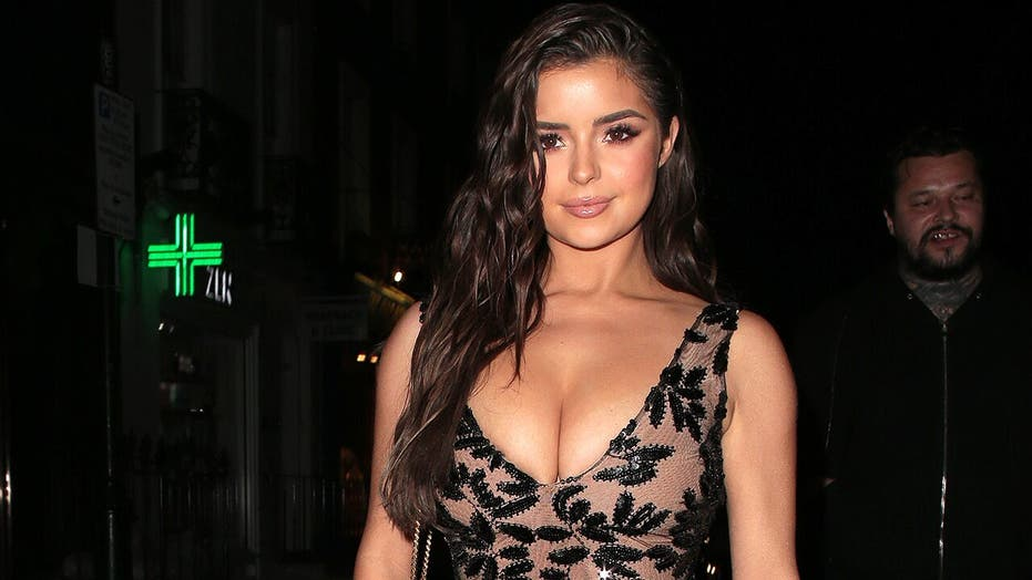British model Demi Rose wows in 'Matrix'-inspired swimsuit snap: 'One of my favorite looks'