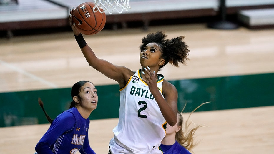No. 7 Baylor women win by 93 again, topping McNeese 117-24