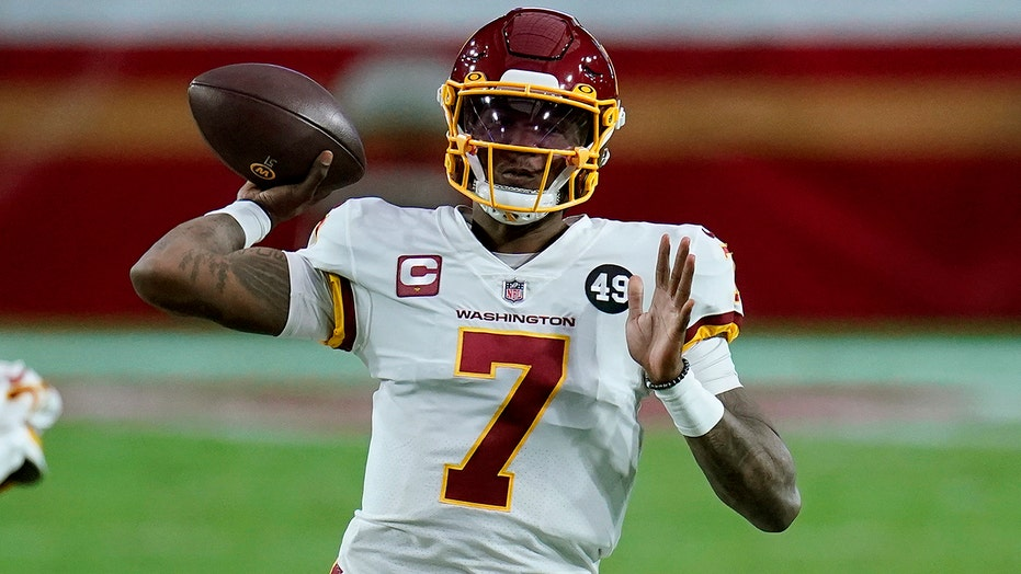 Haskins to start for Washington vs. Seattle with Smith out