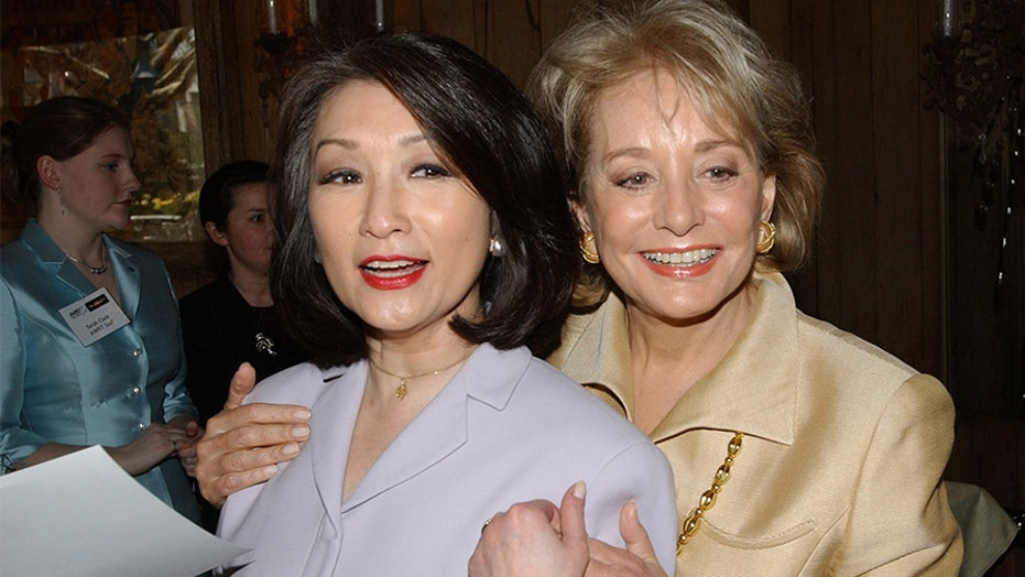 Connie Chung compares Barbara Walters, Diane Sawyer to Tonya Harding, says David Letterman is 'antisocial'