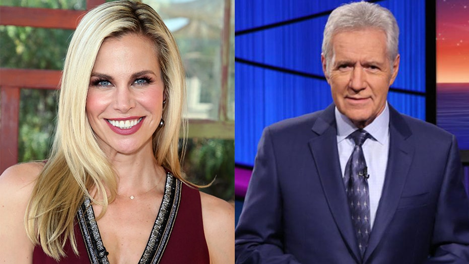 Brooke Burns talks meeting Alex Trebek on 'Baywatch' and whether she would host 'Jeopardy!'