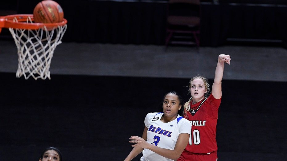 Van Lith helps No. 5 Louisville break school points record