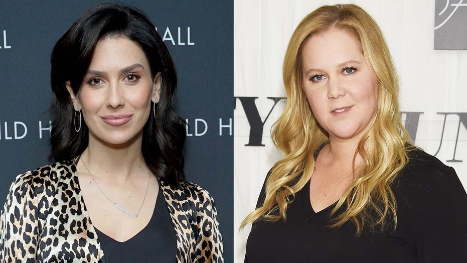 Hilaria Baldwin reacts to Amy Schumer using her photo for Christmas post