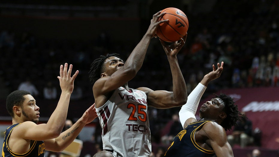 Virginia Tech hits 20 3-pointers, routs Coppin State 97-57
