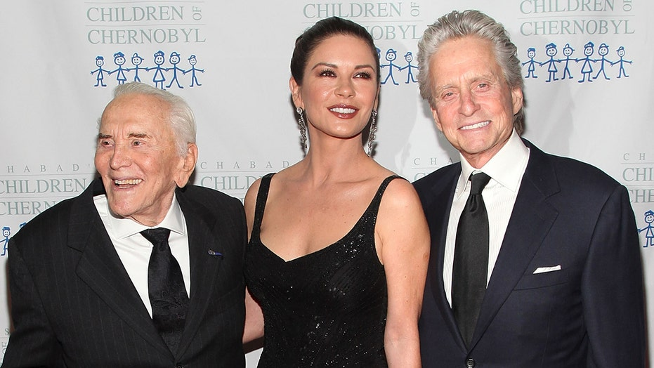 Michael Douglas, Catherine Zeta-Jones pay tribute to Kirk Douglas on his 104th birthday anniversary