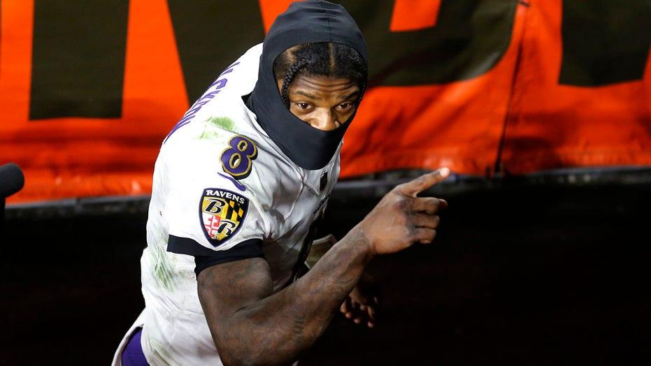 Ravens' Lamar Jackson: Intense cramping Monday night may have been coronavirus-related