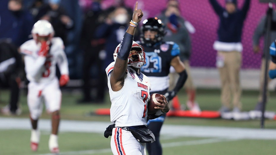 Liberty ends Coastal Carolina's perfect season with thrilling overtime Cure Bowl victory