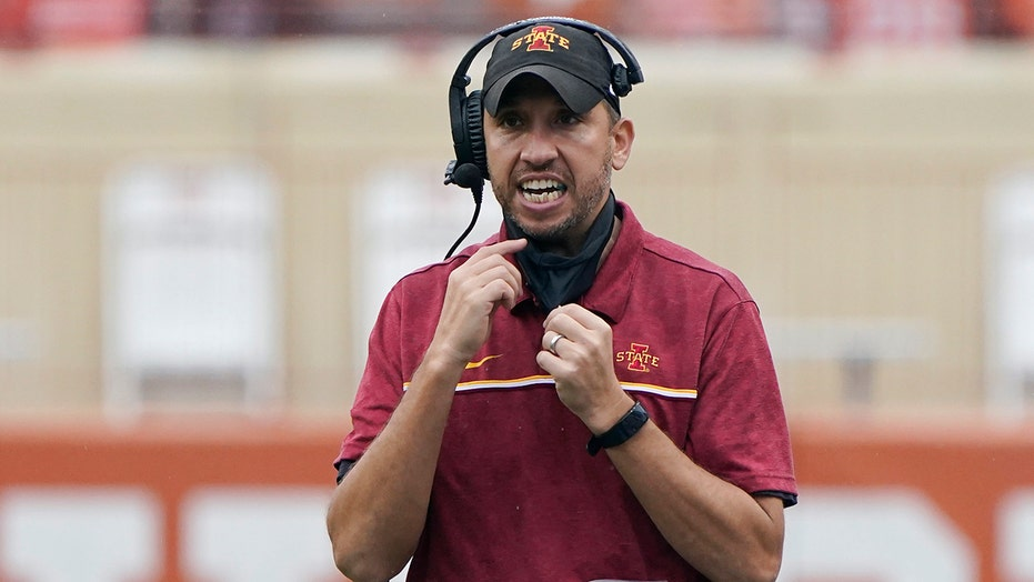 No. 12 Iowa State can clinch Big 12 title game spot with win