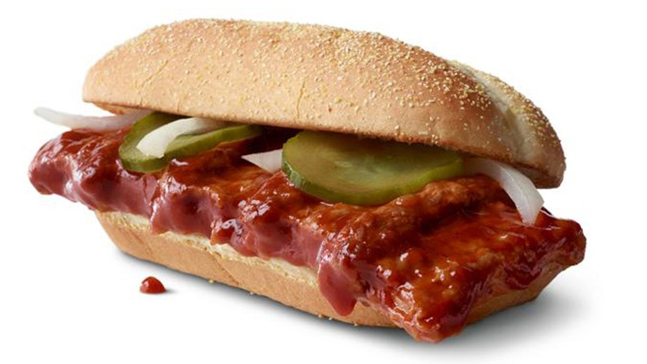McDonald's giving McRib sandwiches to people with 'baby-smooth' faces as part of cancer-awareness initiative