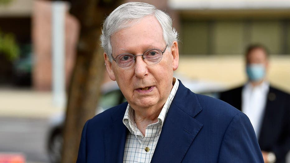 McConnell calls to 'set aside' liability protections, state, local funding in future coronavirus relief bill