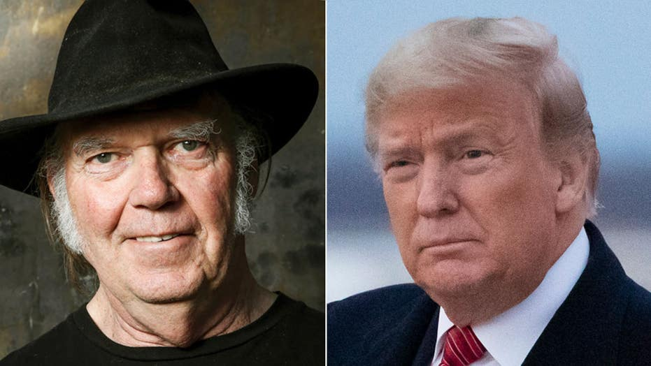 Neil Young drops lawsuit against Donald Trump over use of his music at campaign events
