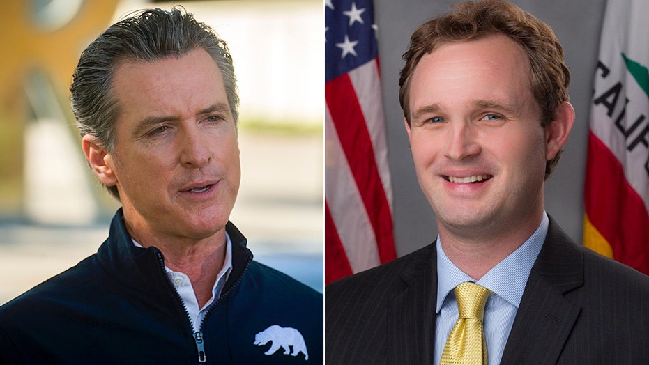 California Assemblyman James Gallagher slams Democratic Gov. Newsom's new COVID-19 lockdown