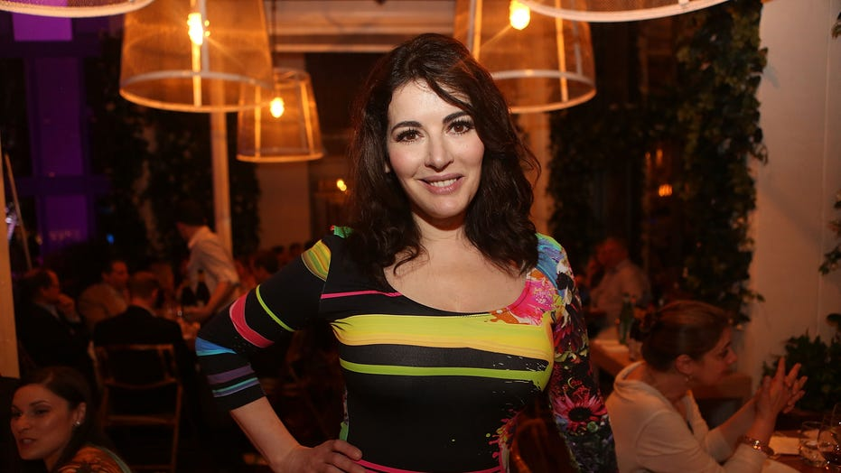 Nigella Lawson responds to scrutiny over her pronunciation of the word 'microwave'