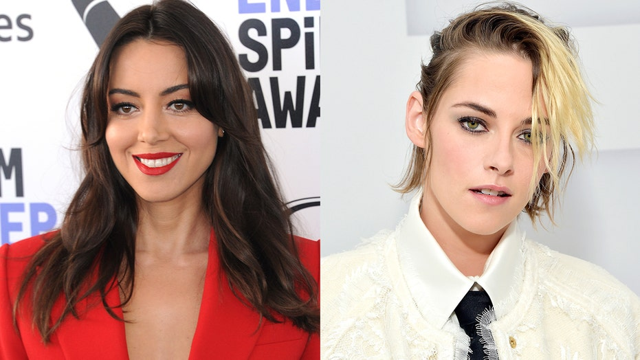 'Happiest Season' star Aubrey Plaza reveals Kristen Stewart contracted coronavirus while filming in February